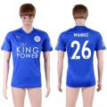 2017-18 Leicester City 26 MAHREZ Home Thailand Soccer Jersey