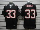 Nike NFL Atlanta Falcons #33 Michael Turner Black Elite Jerseys