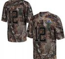 Nike Packers #12 Aaron Rodgers Camo With Hall of Fame 50th Patch NFL Elite Jersey