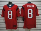 Nike NFL houston texans #8 schaub red Elite Jerseys