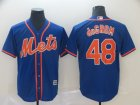 Mets #48 Jacob deGrom Royal Cool Base Jersey