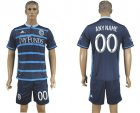 2016-17 Sporting Kansas City Home Customized Soccer Jersey