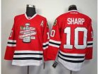 NHL chicago blackhawks #10 sharp red[new 2013 Stanley cup champions][patch A]