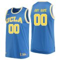 UCLA Bruins Blue Mens Customized College Basketball Jersey