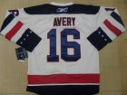 nhl new york rangers #16 avery white(2012 winter classic)