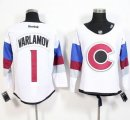 Colorado Avalanche #1 Semyon Varlamov White 2016 Stadium Series Stitched NHL Jersey