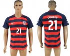 USA 21 CHANDLER 2017 CONCACAF Gold Cup Away Thailand Soccer Jersey