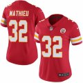 Chiefs #32 Tyrann Mathieu Red Women Vapor Untouchable Limited Jersey