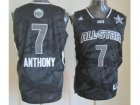 2013 nba all star new york knicks #7 anthony grey jerseys