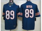 NEW NFL Chicago Bears #89 mike ditka Blue Jerseys(Limited)