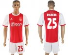 2017-18 AFC Ajax 25 DOLBERG Home Soccer Jersey