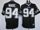 Nike Dallas Cowboys #94 Ware Thankgivings black jerseys(Limited)