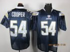 nfl san diego chargers #54 cooper dk.blue