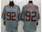 Nike NFL Denver Broncos #92 Elvis Dumervil Grey Jerseys(Lights Out Elite)