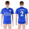 2017-18 Leicester City 2 SIMPSON Home Thailand Soccer Jersey
