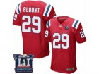 Mens Nike New England Patriots #29 LeGarrette Blount Elite Red Alternate Super Bowl LI Champions NFL Jersey