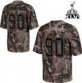 nfl New York Giants #90 Pierre-Paul Camouflage Realtree Collection Super Bowl XLVI