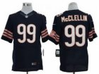 Nike NFL Chicago Bears #99 Shea McClellin Blue Jerseys(Limited)