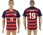USA 19 MIAZGA 2017 CONCACAF Gold Cup Away Thailand Soccer Jersey