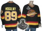 nhl vancouver canucks #89 mogilny black[2011 stanley cup]