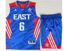 2013 All-Star Eastern Conference Miami Heat #6 LeBron James Blue(Revolution 30 Swingman)Suits