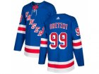 Men Adidas New York Rangers #99 Wayne Gretzky Royal Blue Home Authentic Stitched NHL Jersey