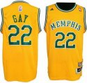 nba Memphis Grizzlies #22 Gay Swingman yellow