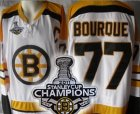 nhl boston bruins #77 bourque white(c)[2011 stanley cup champion