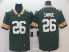 Nike Packers #26 Darnell Savage Jr. Green Vapor Untouchable Limited Jersey