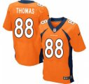 Nike NFL Denver Broncos #88 Demaryius Thomas orange Jerseys(Elite)