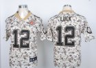 Nike Indianapolis Colts #12 Andrew Luck camo Jerseys(Elite)