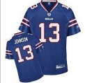 nfl buffalo bills #13 johnson blue 2011 New