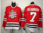 NHL chicago blackhawks #7 seabrook red[new 2013 Stanley cup champions]