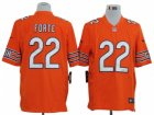 Nike NFL Chicago Bears #22 Matt Forte Orange Game Jerseys