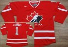 2010 Team Canada #1 Luongo Red