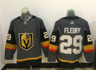 Mens Vegas Golden Knights #29 Marc-Andre Fleury Gray & Cream jerseys