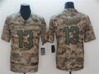 Nike Dolphins #13 Dan Marino Camo Salute To Service Limited Jersey