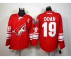 nhl jerseys Phoenix Coyotes #19 doan red[patch C]