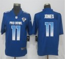 Nike NFC Falcons #11 Julio Jones Royal 2019 Pro Bowl Limited Jersey
