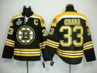 nhl boston bruins #33 chara black[2011 stanley cup]