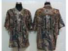 Nike NFL San Francisco 49ers #11 A.Smith Camo Realtree Jerseys(Elite)