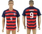 USA 9 MORRIS 2017 CONCACAF Gold Cup Away Thailand Soccer Jersey