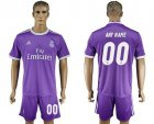 2016-17 Real Madrid Away Customized Soccer Jersey