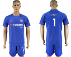 2017-18 Chelsea 1 CECH Home Soccer Jersey