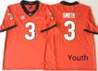 Georgia Bulldogs #3 Roquan Smith Red Youth Nike College Football Jersey