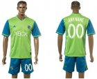 2016-17 Seattle Sounders FC Home Customized Soccer Jersey