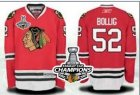nhl jerseys chicago blackhawks #52 bollig red[2013 Stanley cup champions]