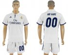 2016-17 Real Madrid Home Customized Soccer Jersey