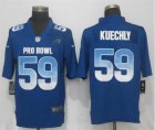 Nike NFC Panthers #59 Luke Kuechly Royal 2019 Pro Bowl Limited Jersey