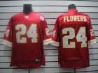 nfl kansas city chiefs #24 flowers red